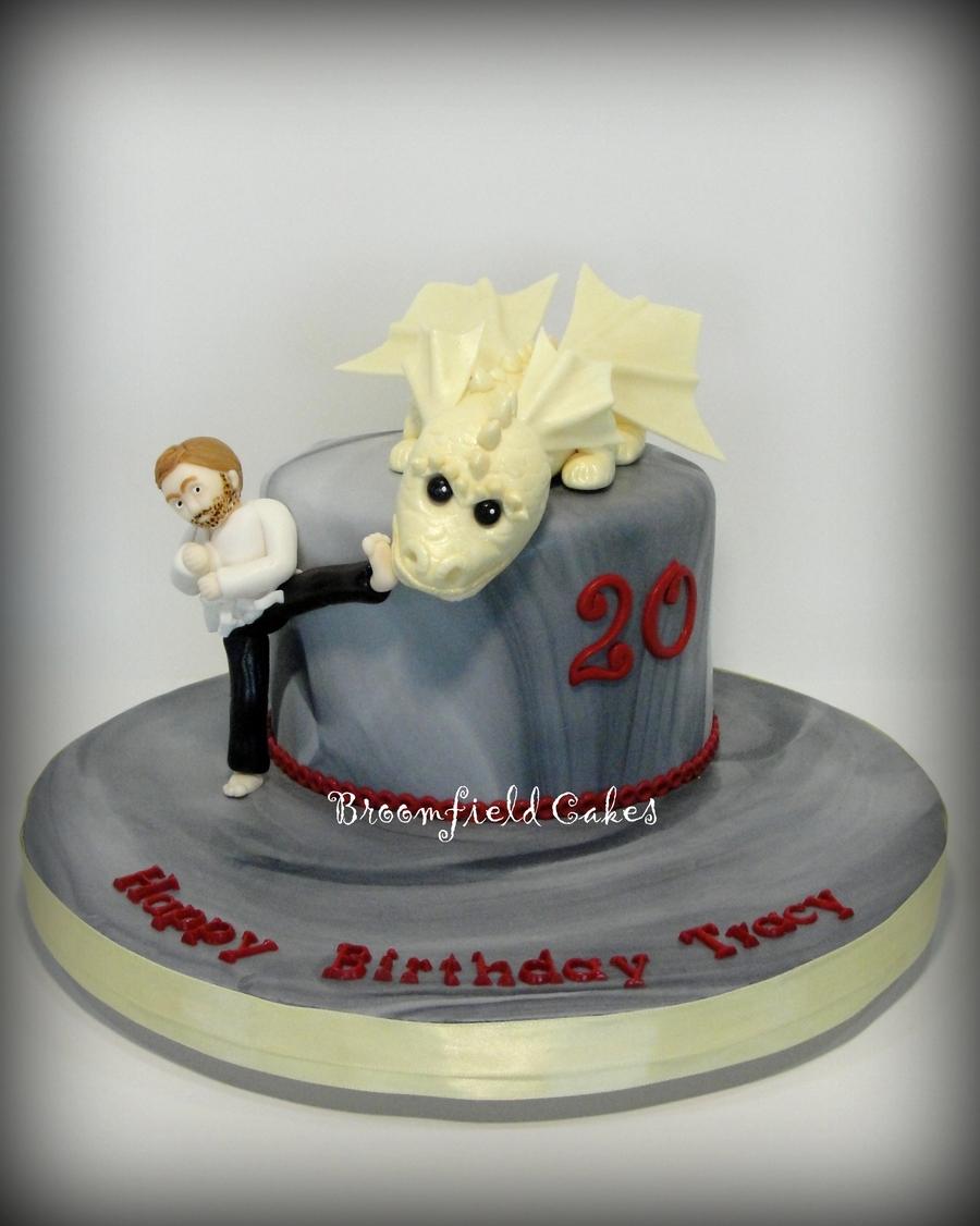 Enjoyable Chuck Norris Cake Cakecentral Com Personalised Birthday Cards Sponlily Jamesorg