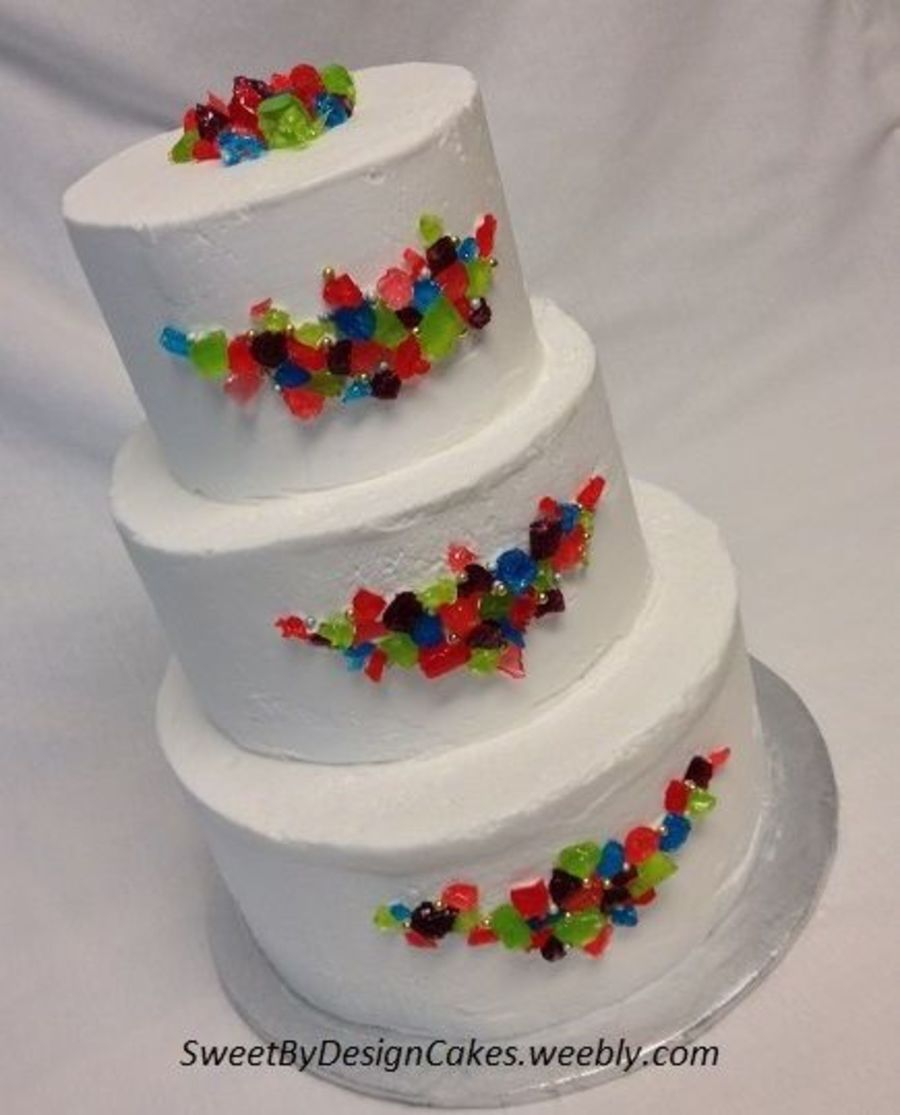 Sugar Jewel Wedding Cake On Central