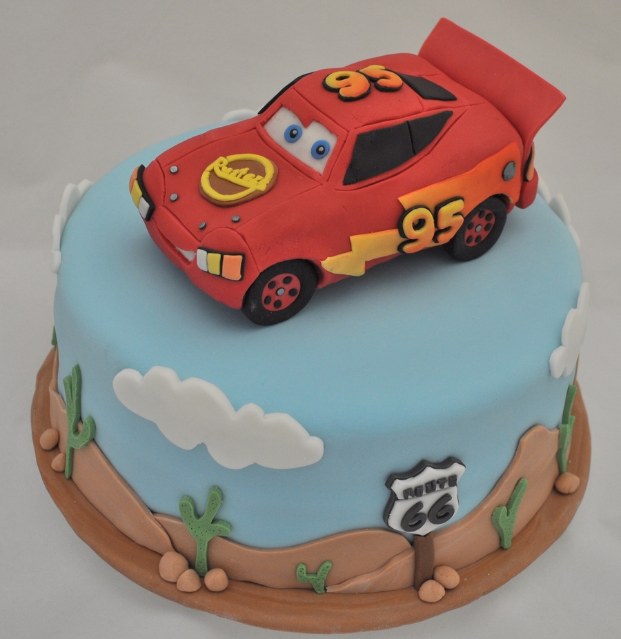 Lightning Mcqueen And Route 66