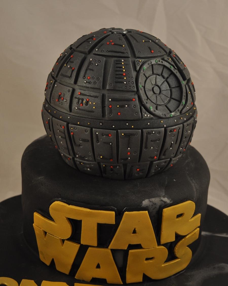 gâteau d'anniversaire Lego Star Wars l'étoile noire