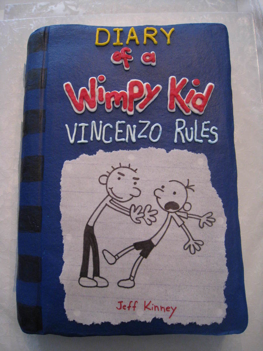 Movie Cover With A Kid And Cake