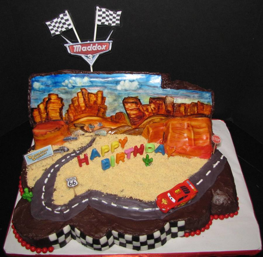 Disney Cars Cake Cakecentral