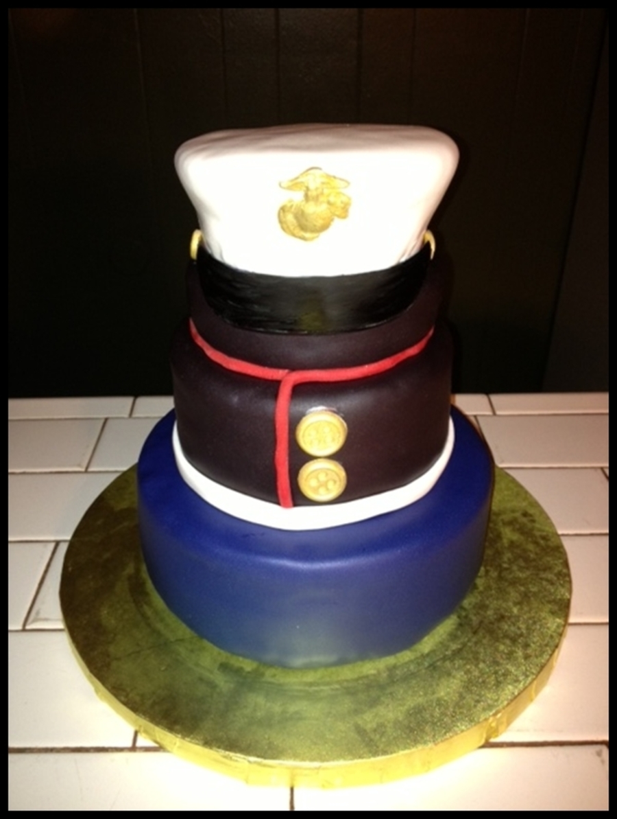 Marines Birthday Cake Cakecentral