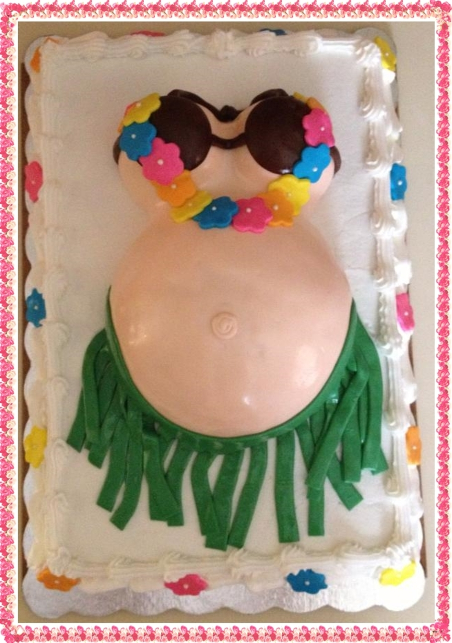 Luau Baby Shower On Cake Central
