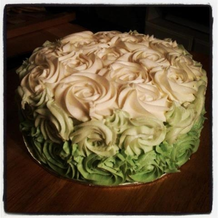 Shades Of Green on Cake Central
