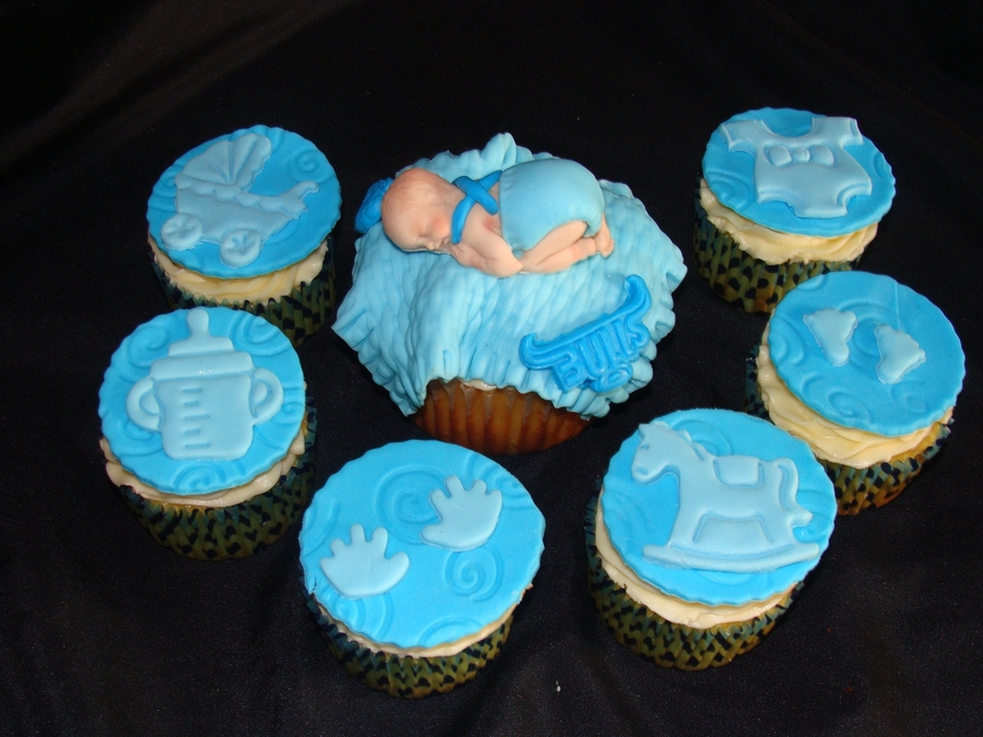 Christening Cupcakes Boy on Cake Central