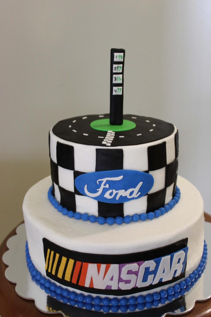 Nascar Cake Cakecentral Com