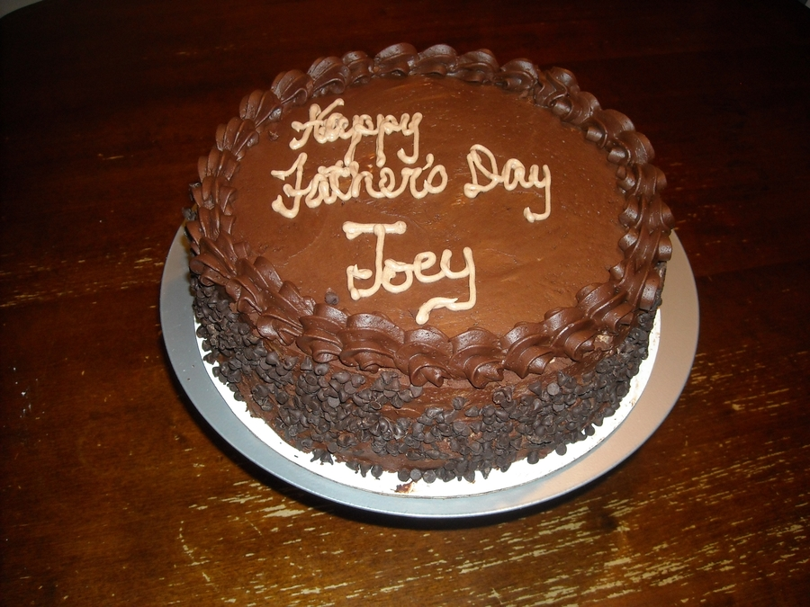 Chocolate For Dad on Cake Central