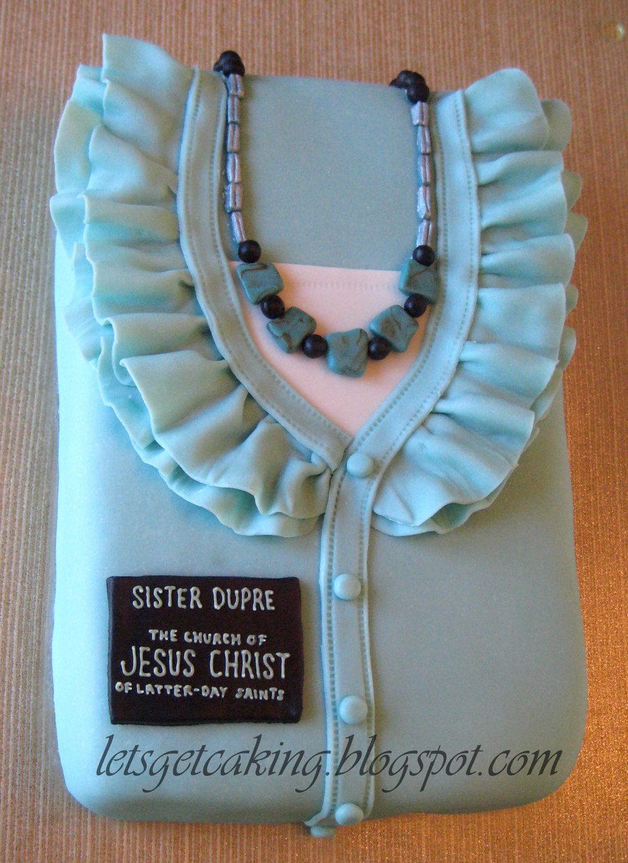 Sister Missionary Cake on Cake Central