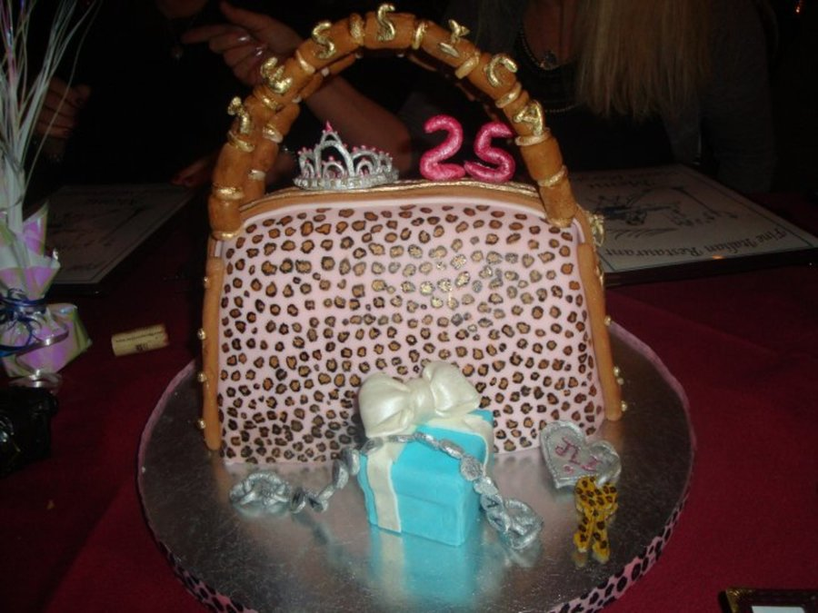 Birthday Purse  on Cake Central