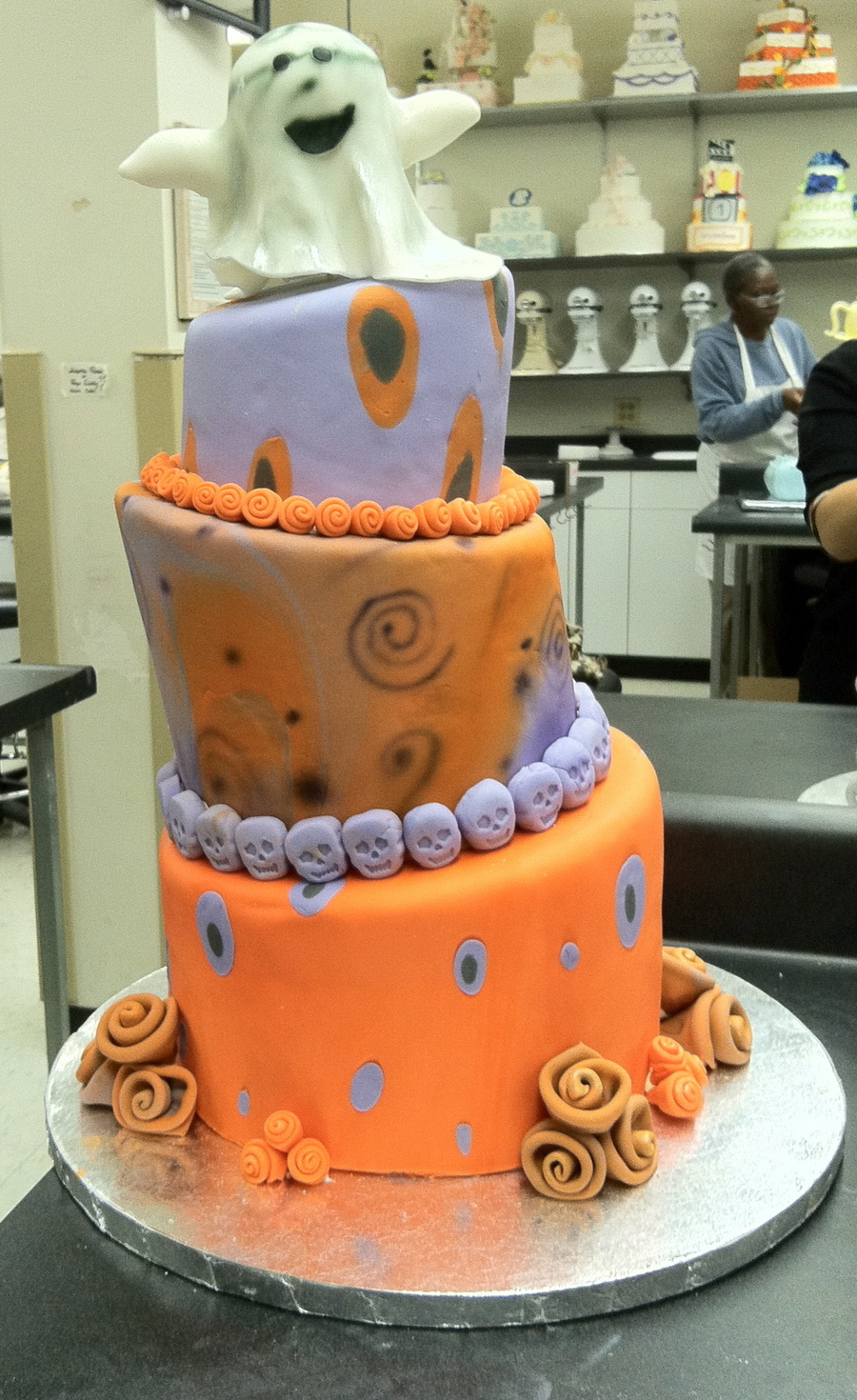 Halloween Ghost on Cake Central