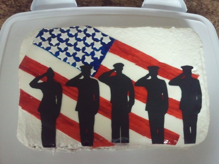 Veterans Day 2011 on Cake Central