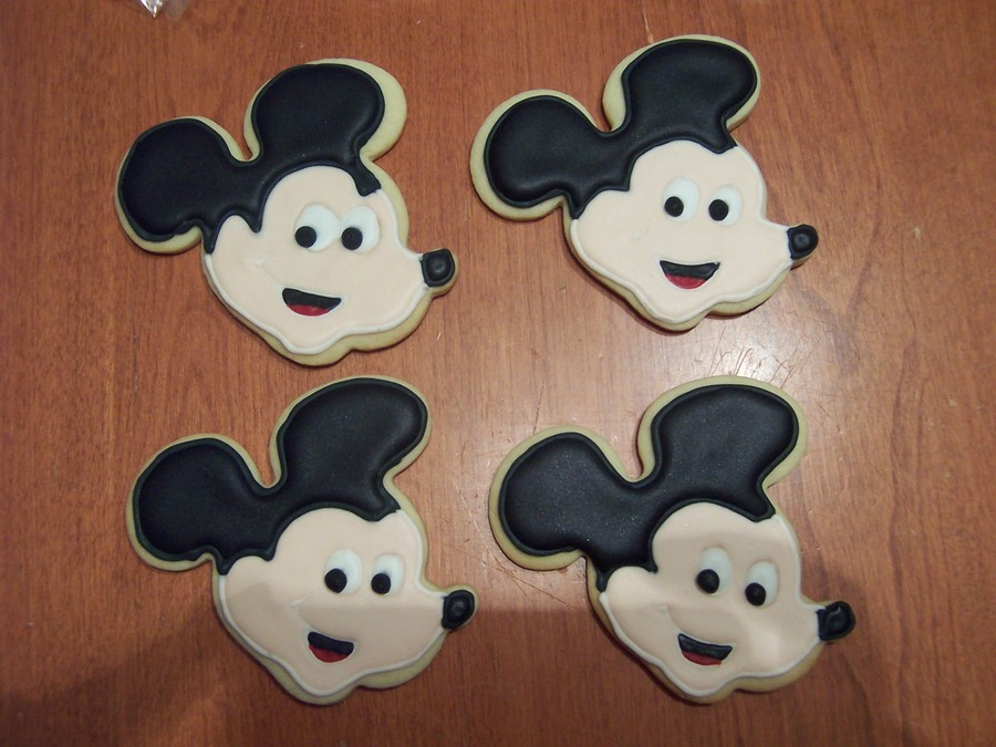 Mickey Sugar Cookies on Cake Central