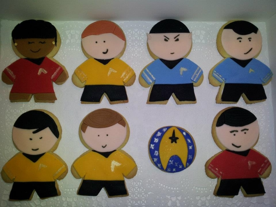 Star Trek Cookies on Cake Central