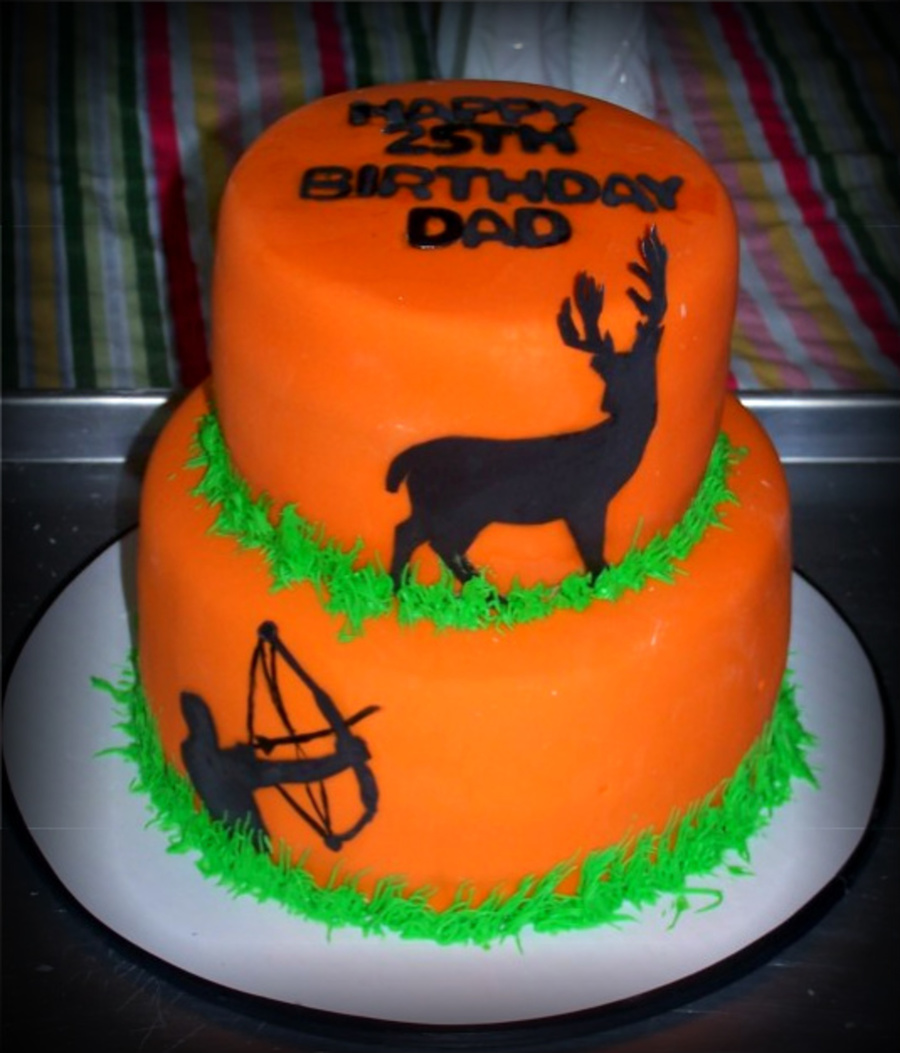 Bow Hunter's Cake on Cake Central