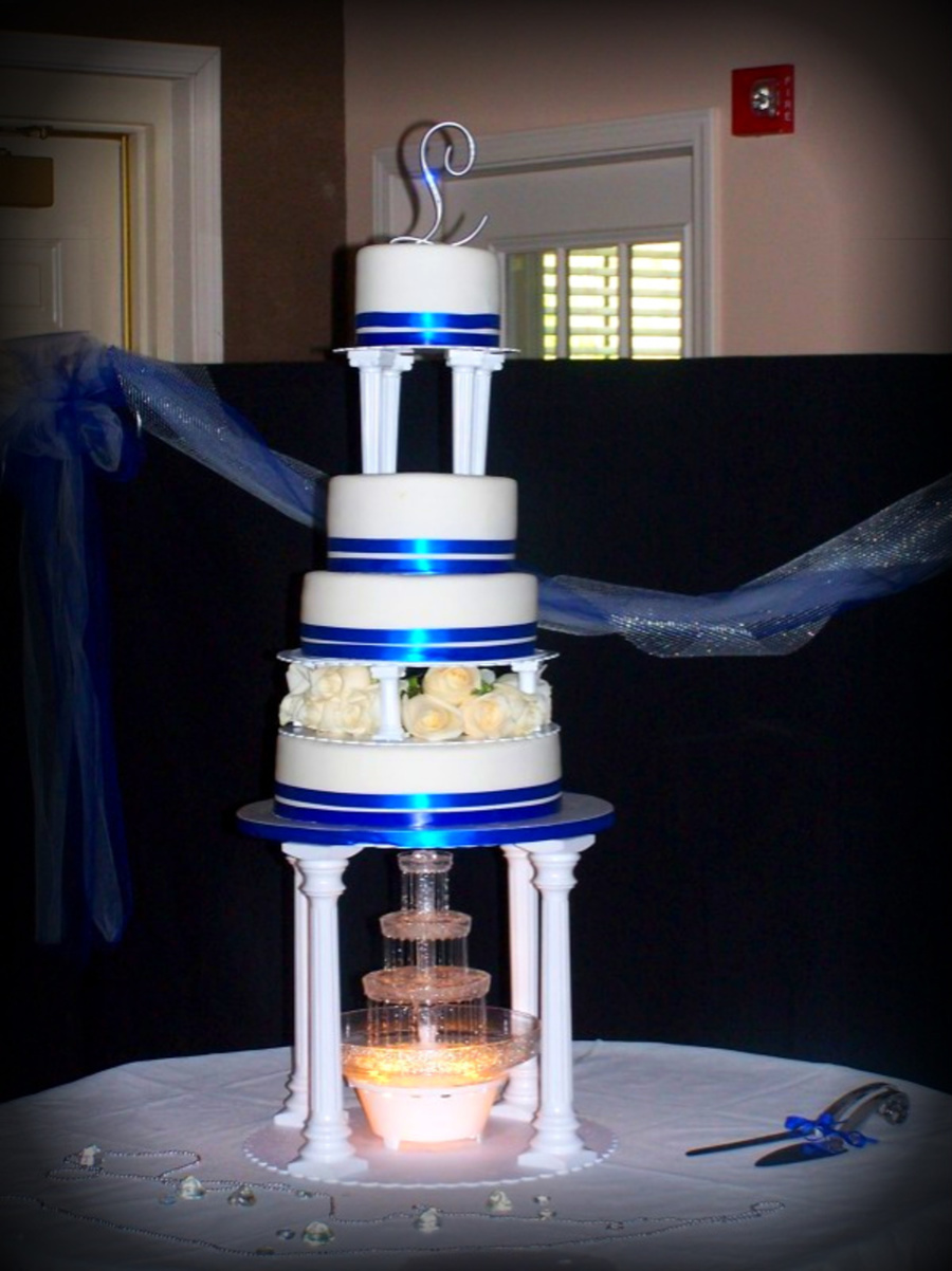 Wedding Cake With Fountain on Cake Central