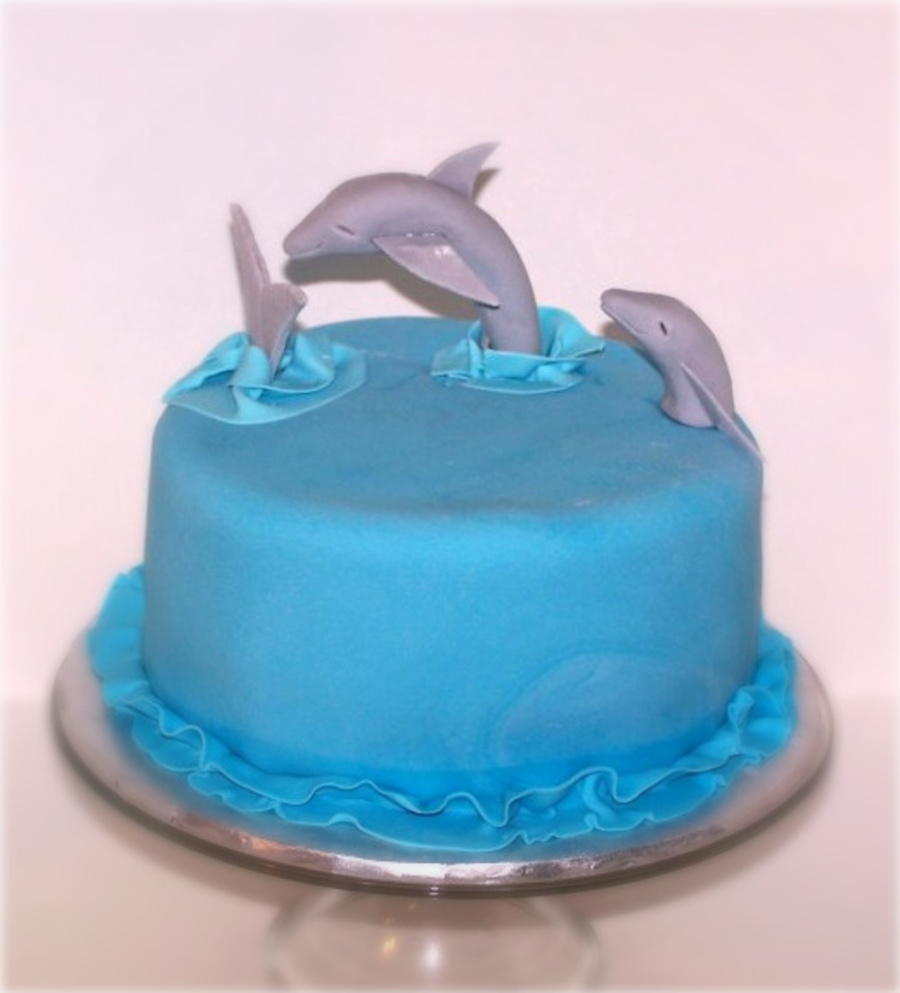 Dolphin Themed Birthday on Cake Central