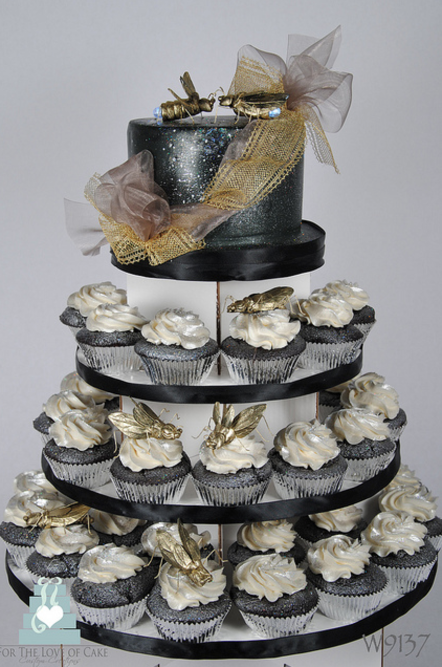 Firefly Wedding Cake/cupcake Tower on Cake Central