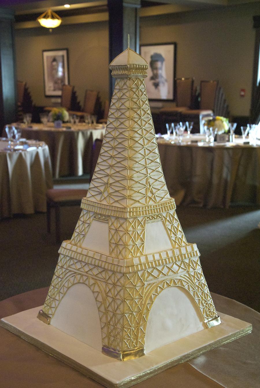 Eiffel Tower Wedding Cake - CakeCentral.com