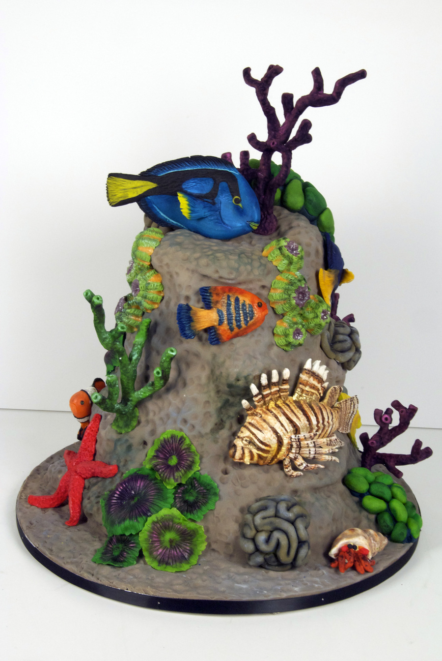 Coral Fish Cake on Cake Central