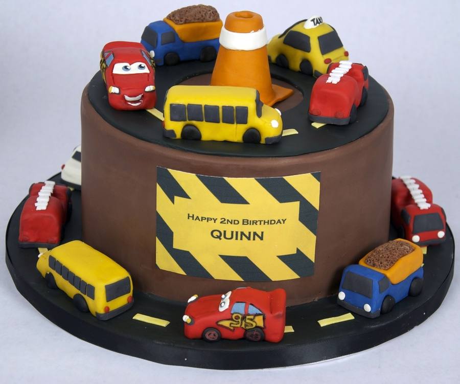 Car Truck Theme Birthday Cake On Central