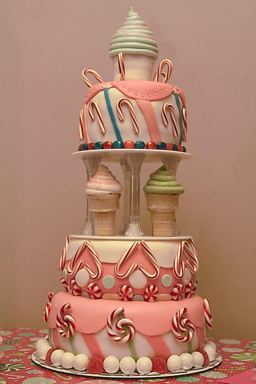 Candy Land Cake - CakeCentral.com