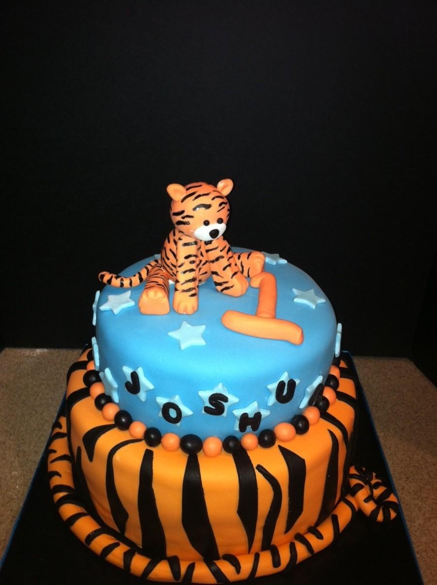 Tiger Birthday Cake Cakecentral Com