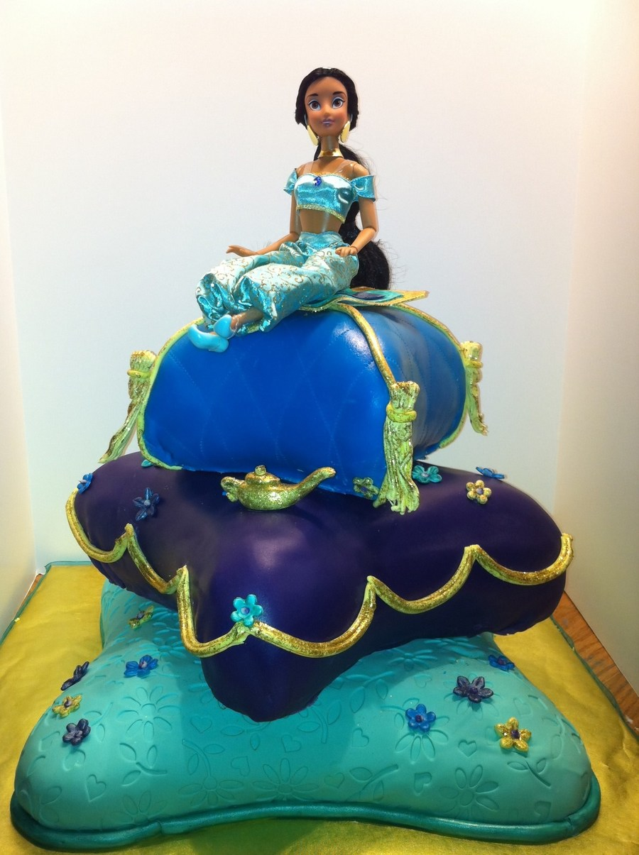 Princess Jasmine Birthday Cake