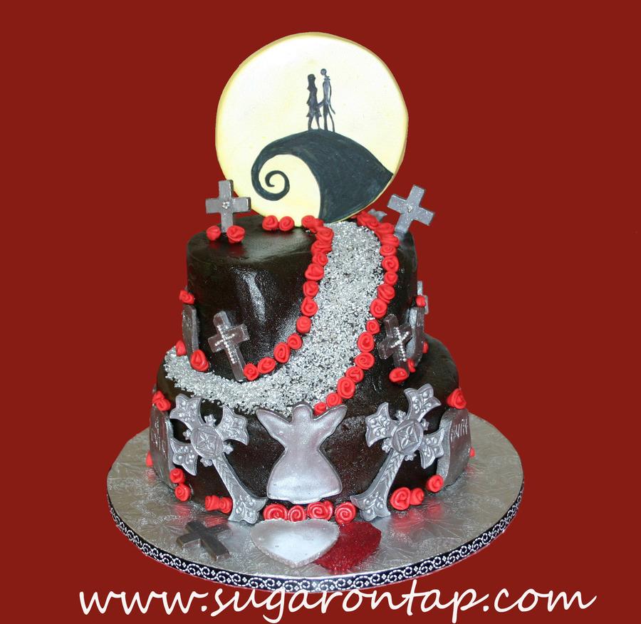Nightmare Before Christmas Bridal Shower - CakeCentral.com