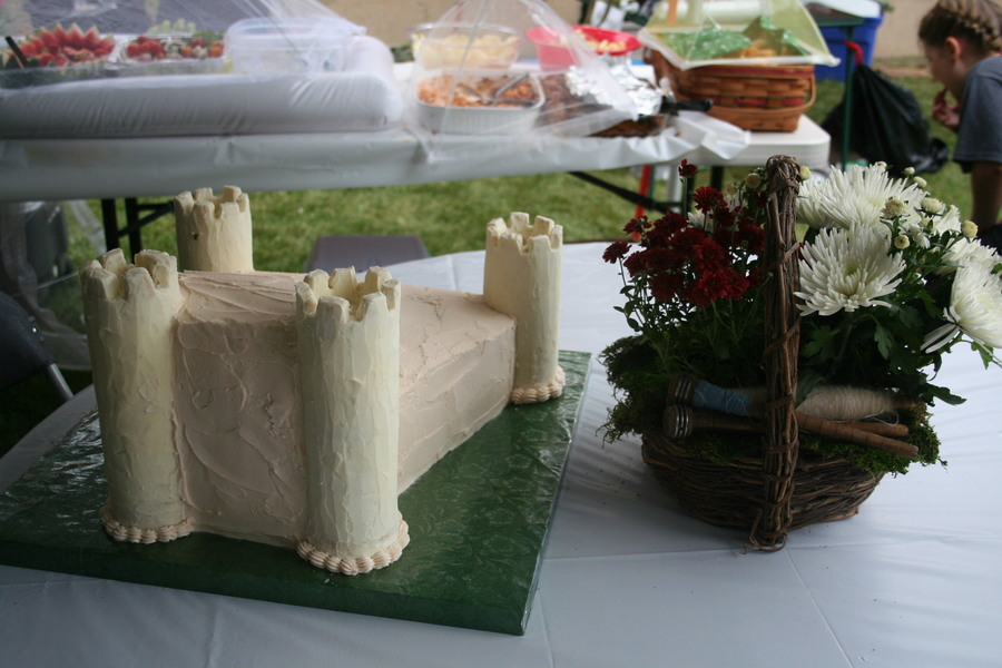 Caerlaverock Castle on Cake Central