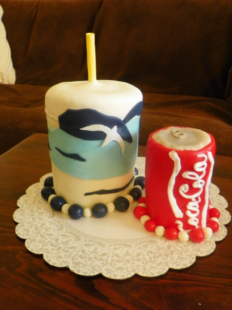 Coke And Cup on Cake Central