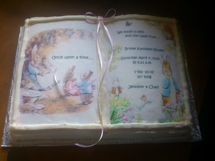 Peter Rabbit Baby Shower on Cake Central