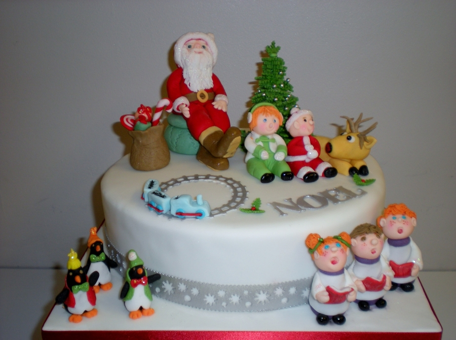 Santas Grotto on Cake Central