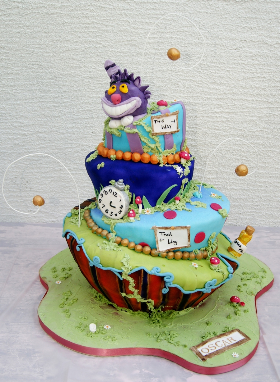 Alice In Wonderland / Madhatter Cake on Cake Central