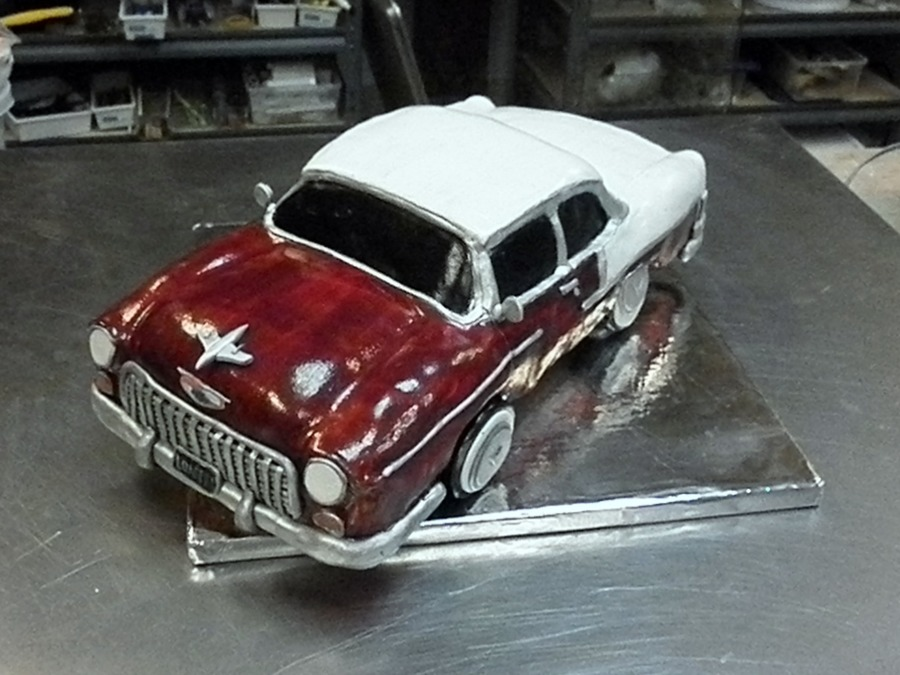 1955 Chevy Bel-Aire on Cake Central