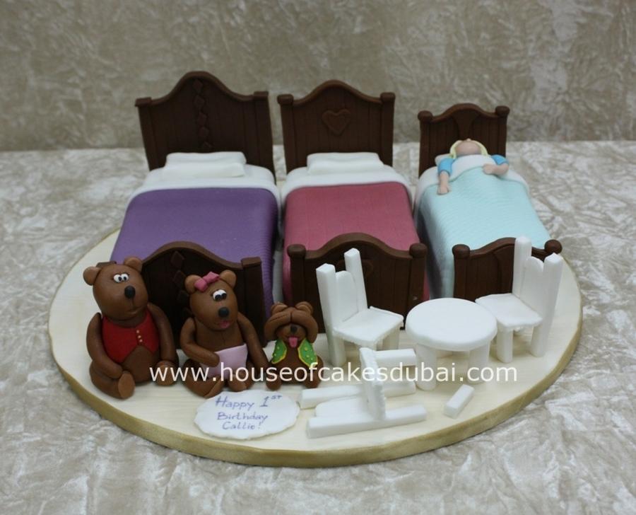 Goldilocks And The Three Bears Cake CakeCentralcom