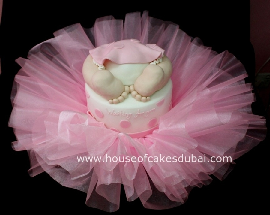 ballerina baby shower baby theme shower cake celebration cakes