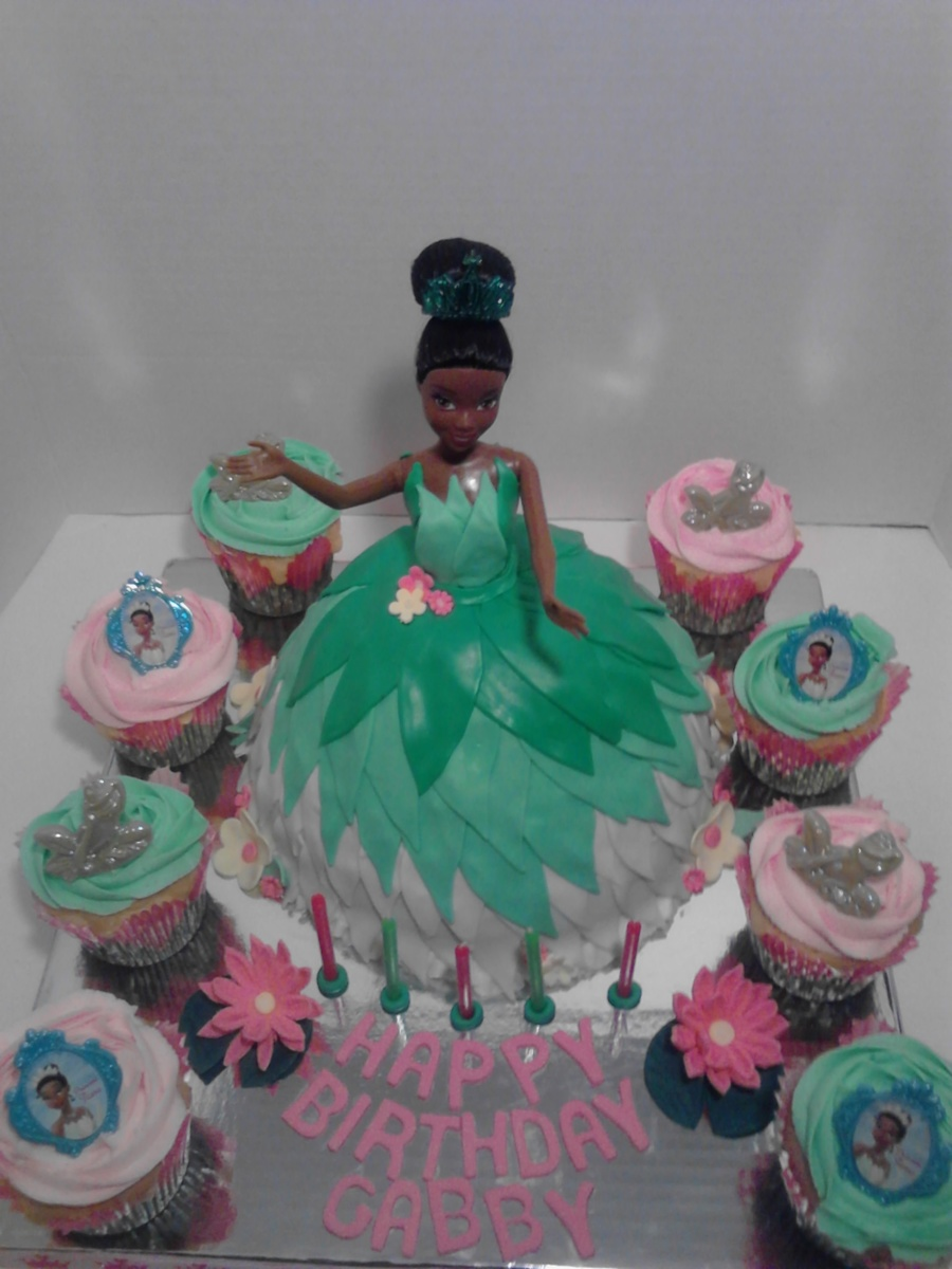 Enjoyable Princess Tiana Birthday Cake Cakecentral Com Funny Birthday Cards Online Aeocydamsfinfo