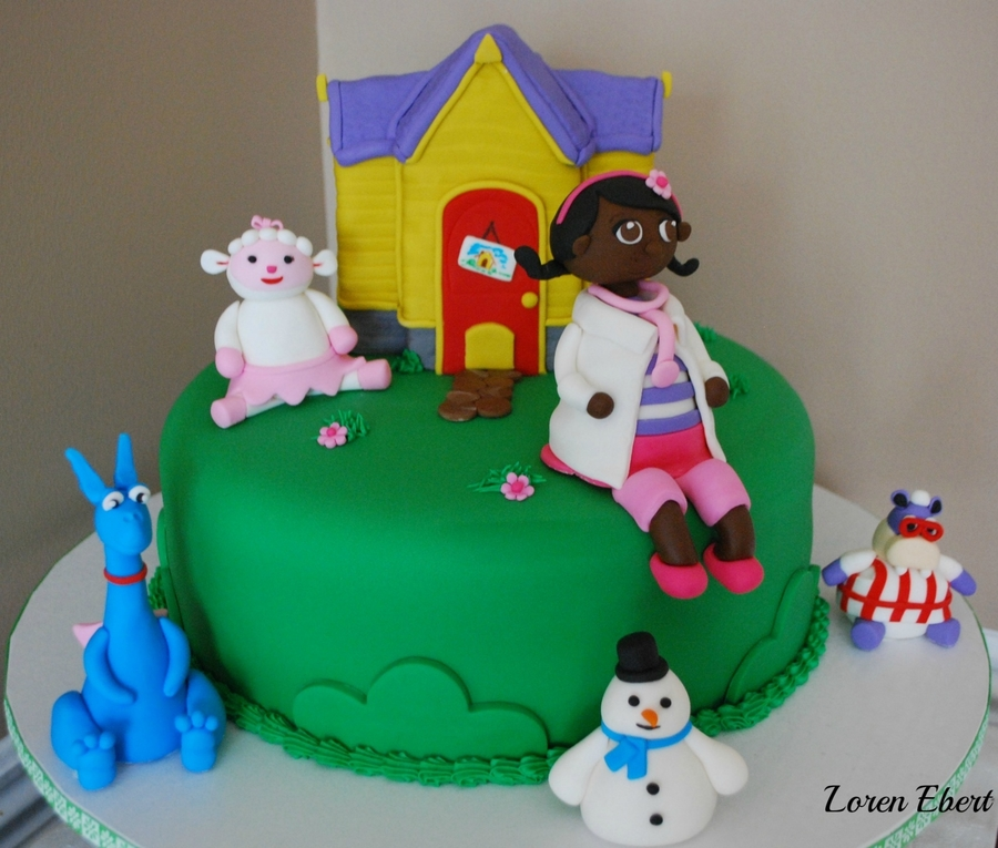Doc Mcstuffins Cake! on Cake Central