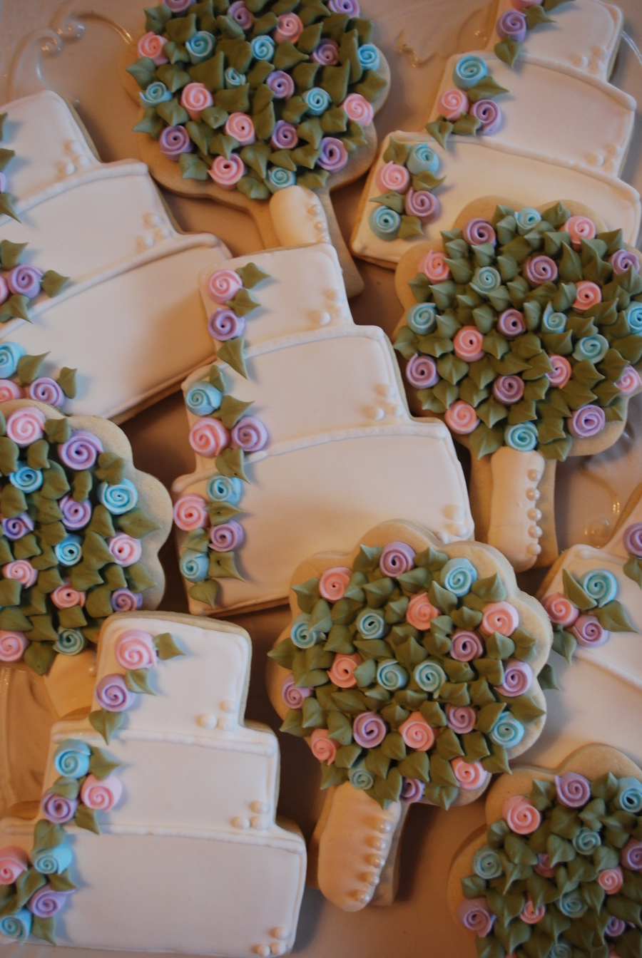 Bridal Shower Cookies on Cake Central