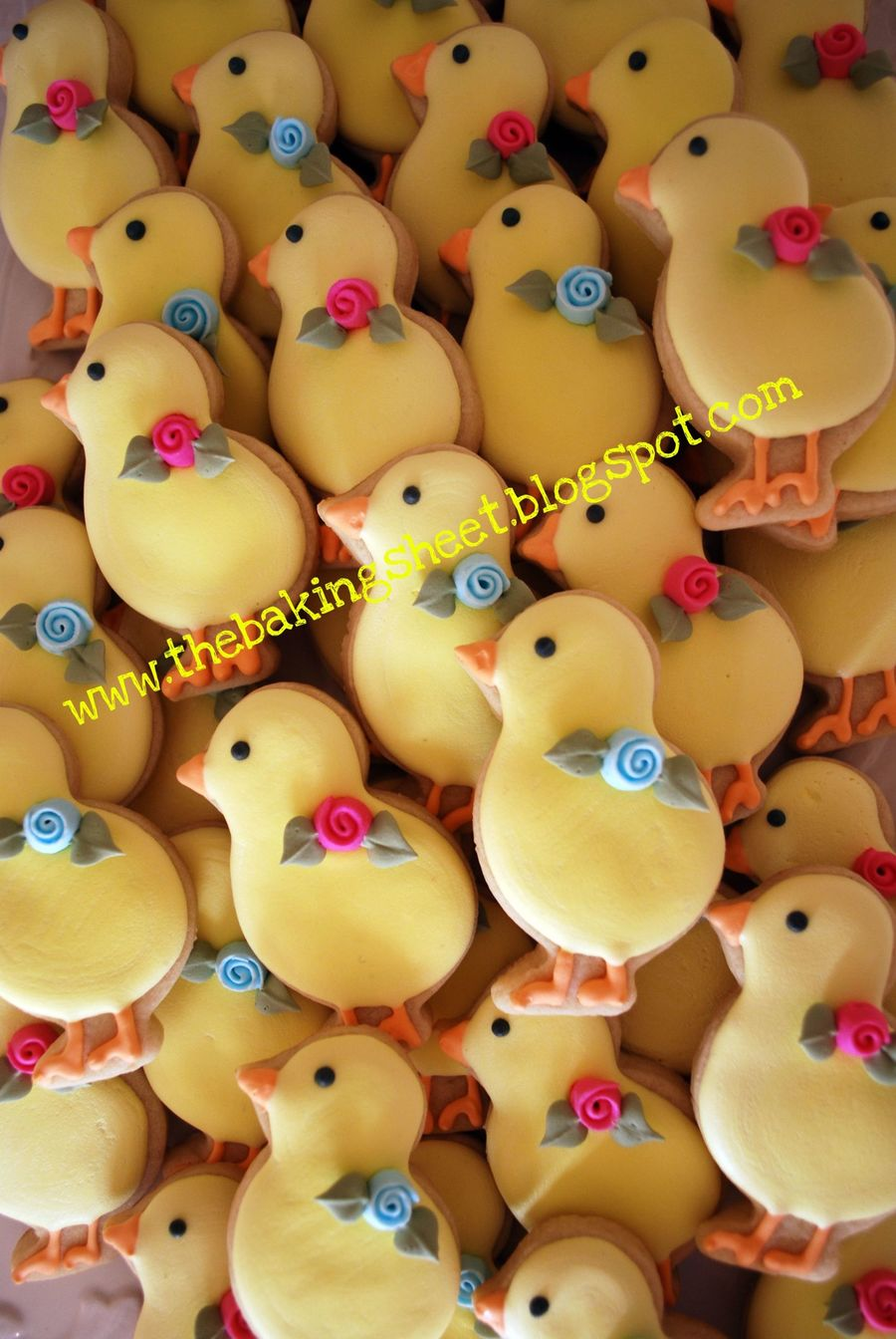 Baby Chicks! on Cake Central
