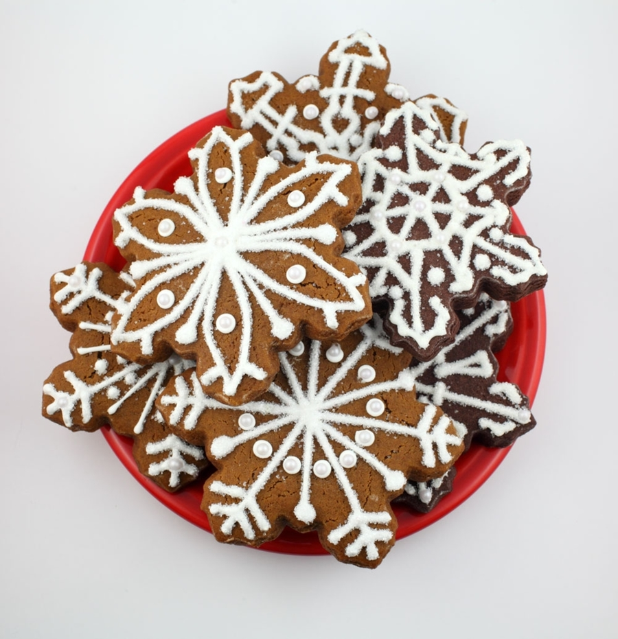 Snowflake Gingerbread on Cake Central
