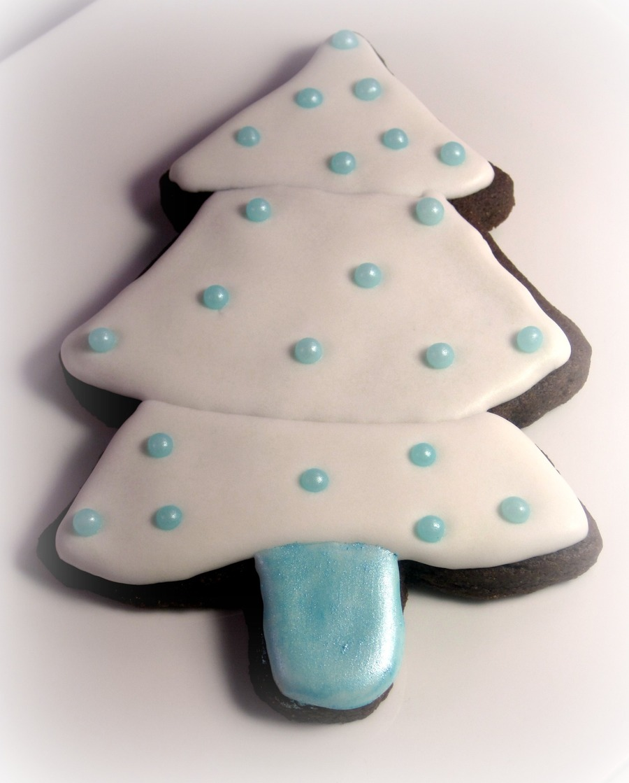 Christmas Tree Cookie on Cake Central