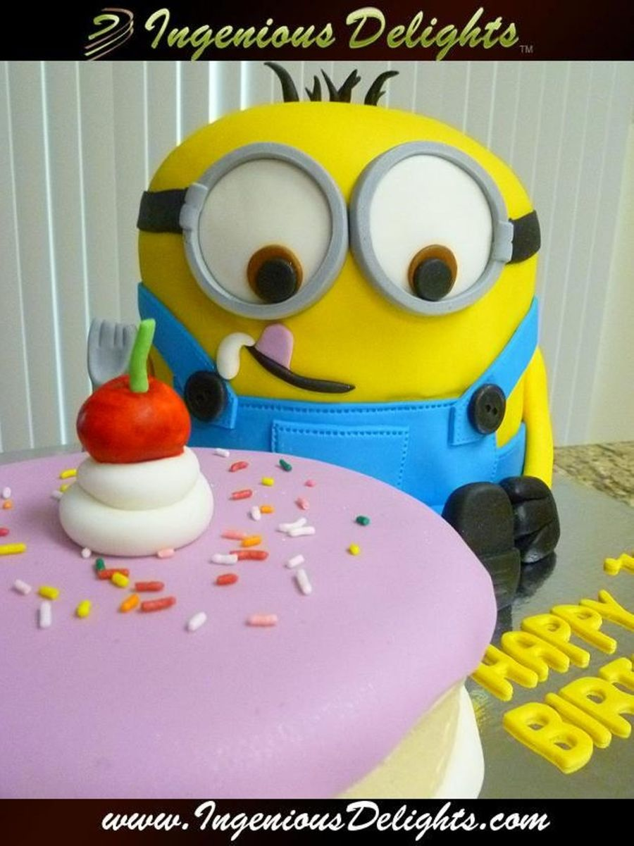 Baby Minion on Cake Central