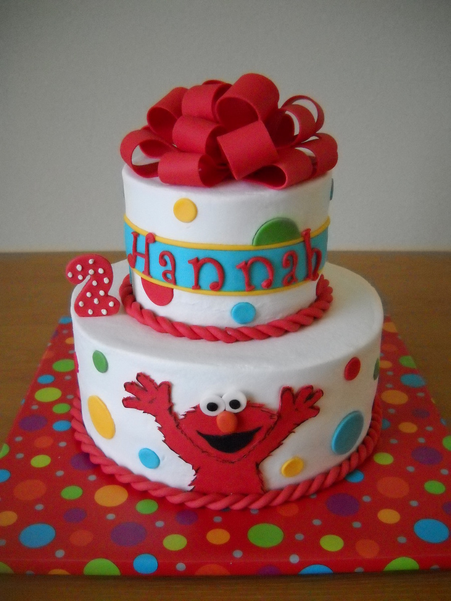 elmo template for cake - hannah 39 s elmo cake