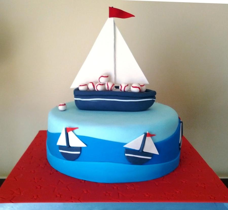 Sail Boat Cake CakeCentralcom