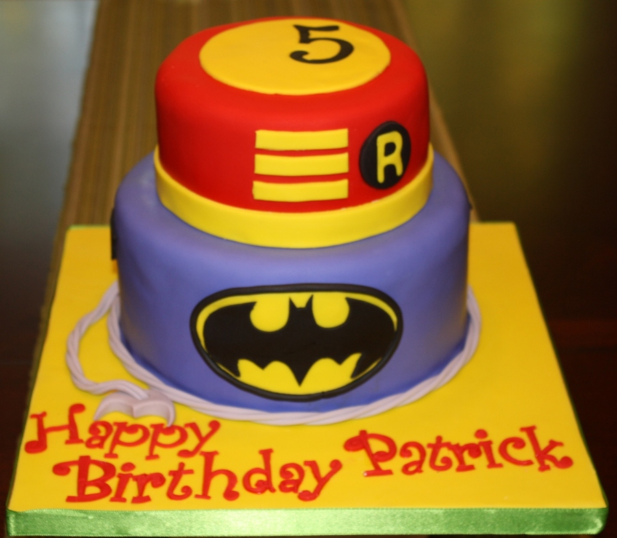 Batman And Robin on Cake Central