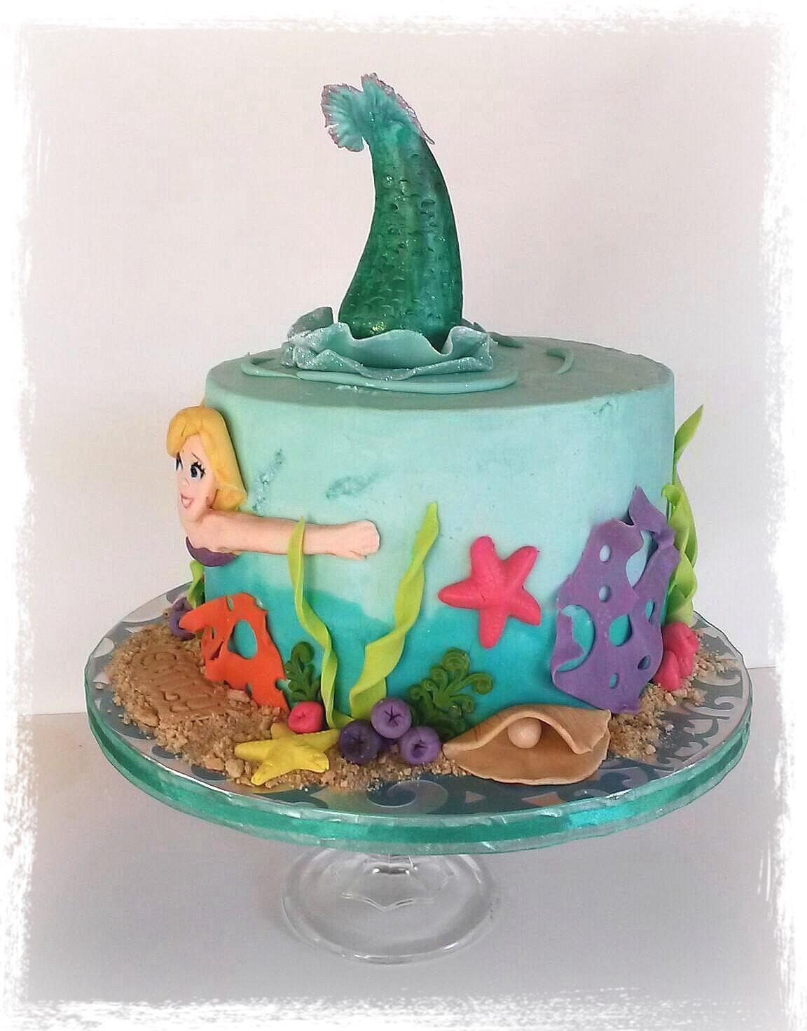 Birthday Cake Girl Princess