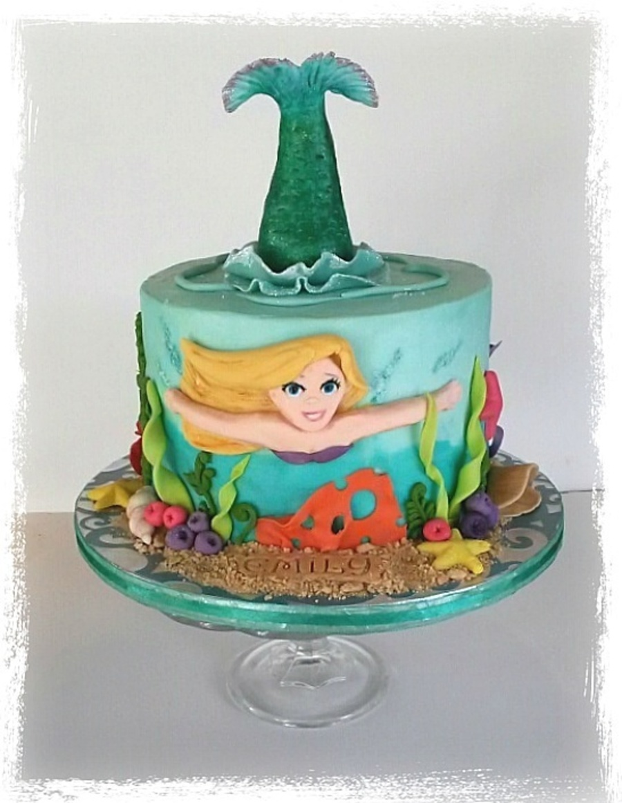Mermaid Birthday Cake Cakecentral Com