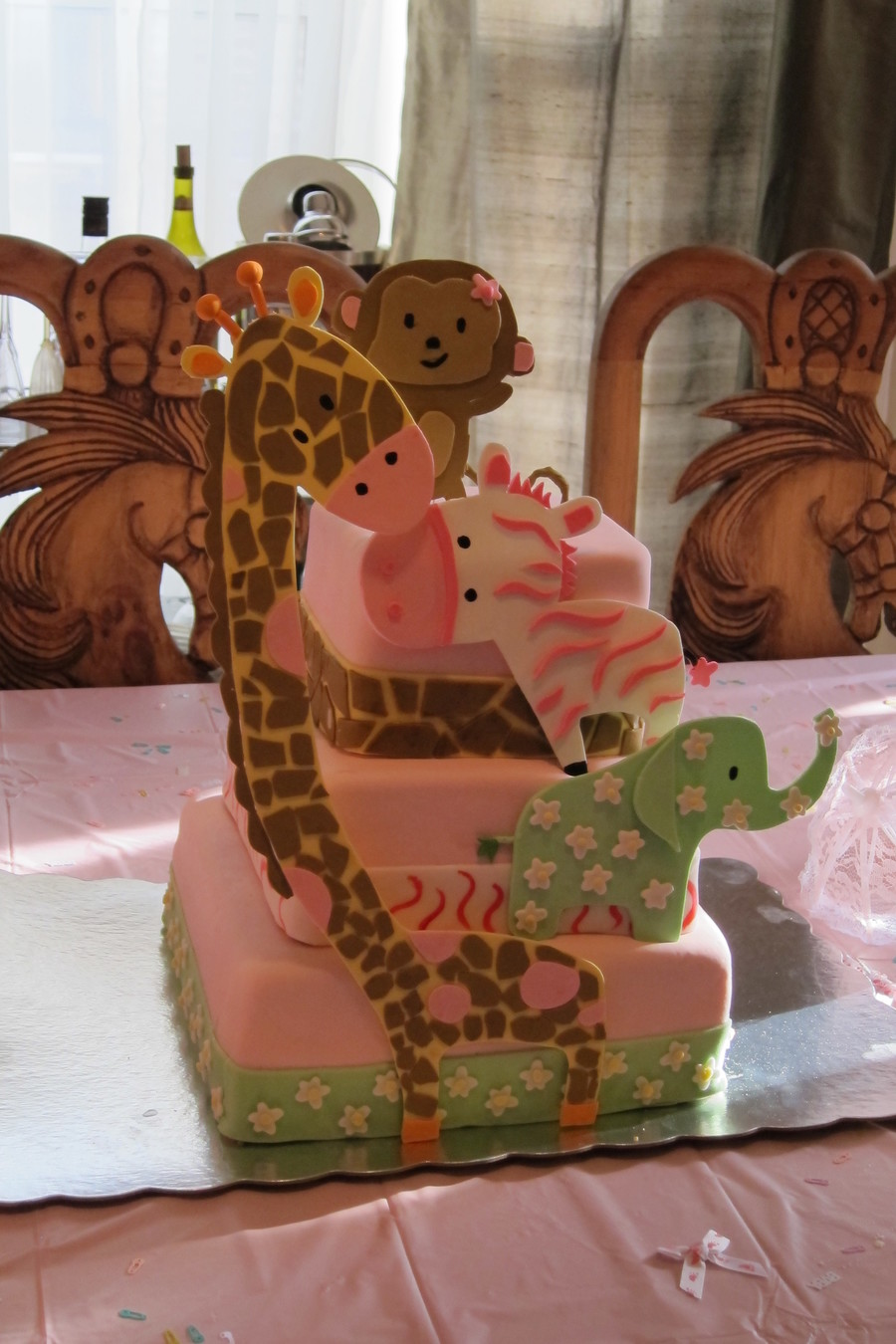 One Wild Baby Shower on Cake Central